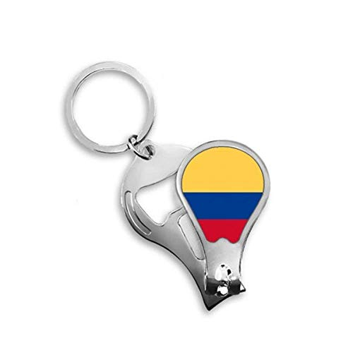 DIYthinker Colombia Nationale Vlag Zuid-Amerika Land Toenail Clipper Cutter