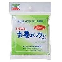 トキワ工業 お茶パックL糸付 白 トキワオチヤパツクLイトツキ
