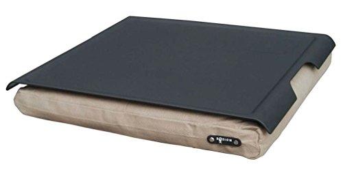 Laptray anti-slip bosign support plateau pour tablettes - noir sable