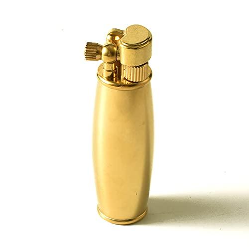 PENNY73 Accendino Vintage Fatto a Mano Mini Personalizzazione Macchinari in Rame Puro Accendino a Cherosene Antico Retro (Senza Carburante)