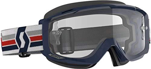 Scott Split OTG MX Goggle Cross/MTB Brille blau/weiß/klar Works