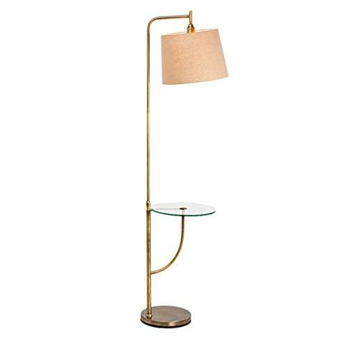 WRMOP staande lamp moderne woonkamer slaapkamer sofa plank verticale lamp salontafel van glas lamp met tafel R/19/12/25