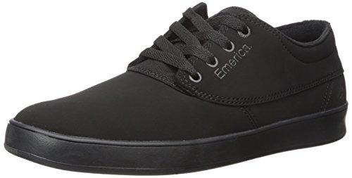 Emerica Men's Emery Skate Shoe,black/black/black,8 Medium US