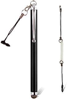 amPen Hybrid Stylus Pen - Interchangeable Hybrid Tip Touchscreen Stylus (Black)