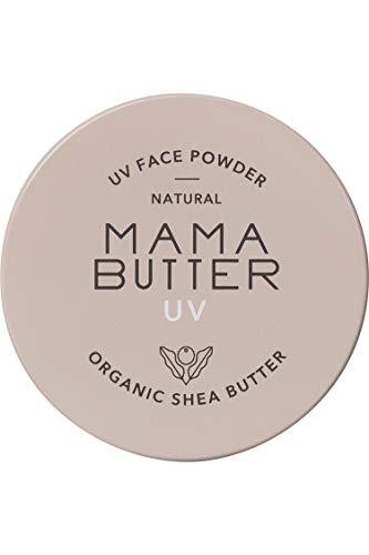 MAMA BUTTER(ママバター) フェイスパウダー ラベンダー&ゼラニウムの香り ナチュラル 7グラム (x 1)