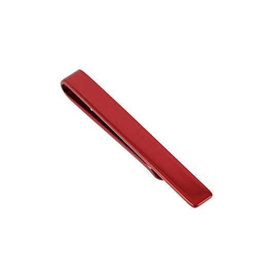 Clj Charles Le Jeune - Pince à Cravate Pour Cravate Slim Rouge