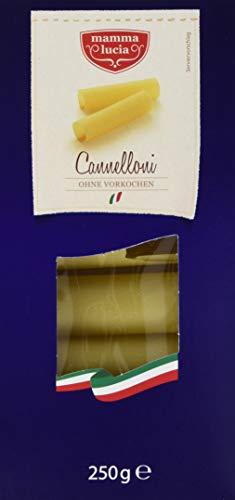 mamma lucia Pasta Cannelloni, 8er Pack (8 x 250 g)
