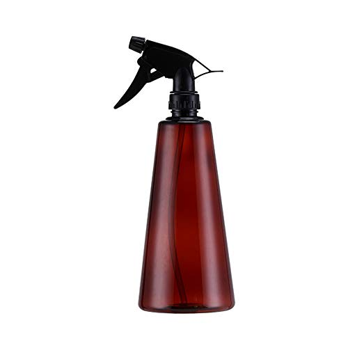 AWYJ Flacon Vaporisateur 750ml Vider Vaporiser Bouteilles Fine Brume Trigger Mist Pulvérisateur et Modes Flux for Nettoyage -Pack de 2 Contenants réutilisables Liquide (Color : Brown, Size : 750ml)