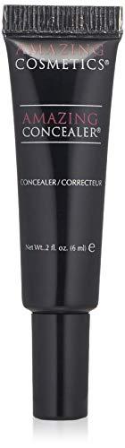 AMAZING COSMETICS Amazing Concealer, multipurpose full coverage concealer, Light Golden, 2 Fl Oz