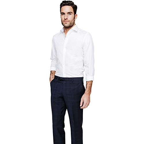 Arrow hemd slim fit zonder strijken wit