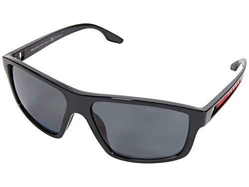 Prada 0PS 02XS, (Marco negro/lente gris polarizado), Talla única