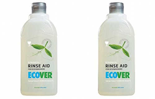 (2 Pack) - Ecover - Dishwasher Rinse Aid | 500ml | 2 PACK BUNDLE