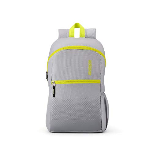 American Tourister Dash 20 Ltrs Grey Casual Daypack (FF7 (0) 08 001)