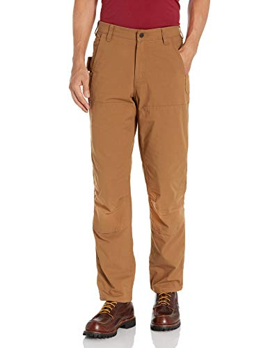 Carhartt Full Swing Steel Double Front Pant Pantaloni, Brown, W36/L34 Uomo