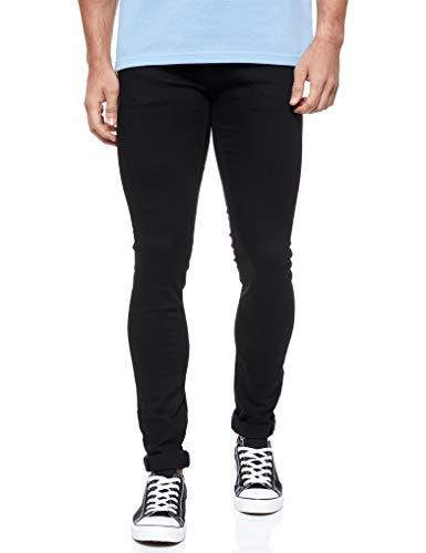 JACK & JONES Jjiliam Jjoriginal Am 009 Lid Noos, Jeans Hombre, Negro (Black Denim), W28/L30 (Talla del fabricante: 28)