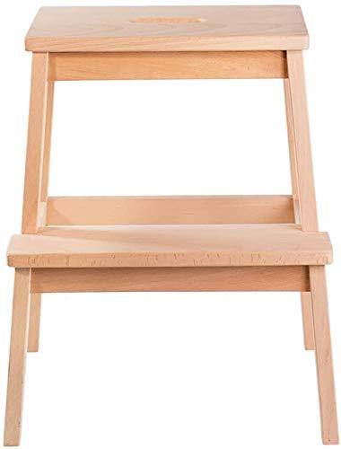 GUOXY Multifunktions-2 Schritt Für Schritt Hocker, Massivholz-Treppen Hocker-Ascends Leiter Kinderhocker Low Ladder Ändern Schuhe Bench