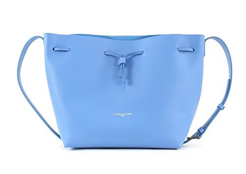 Lancaster Pur Saffiano Bucket Bag Bleu Ciel