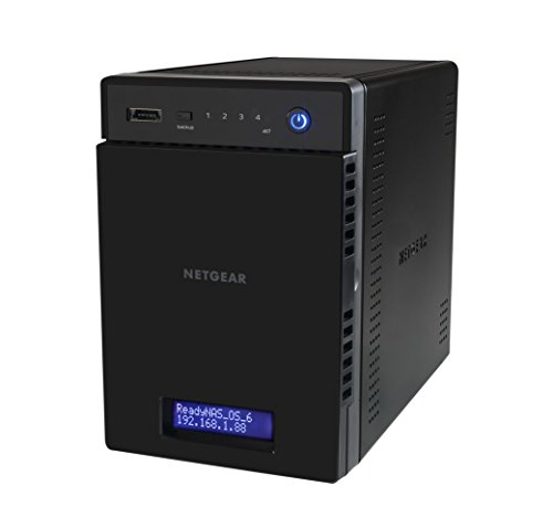 NETGEAR RN214D42-100NES 214 D-DISC NAS-System - 10