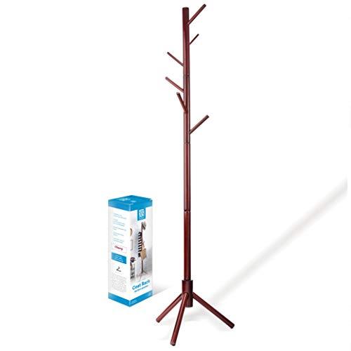 High-Grade Wooden Tree Coat Rack Stand