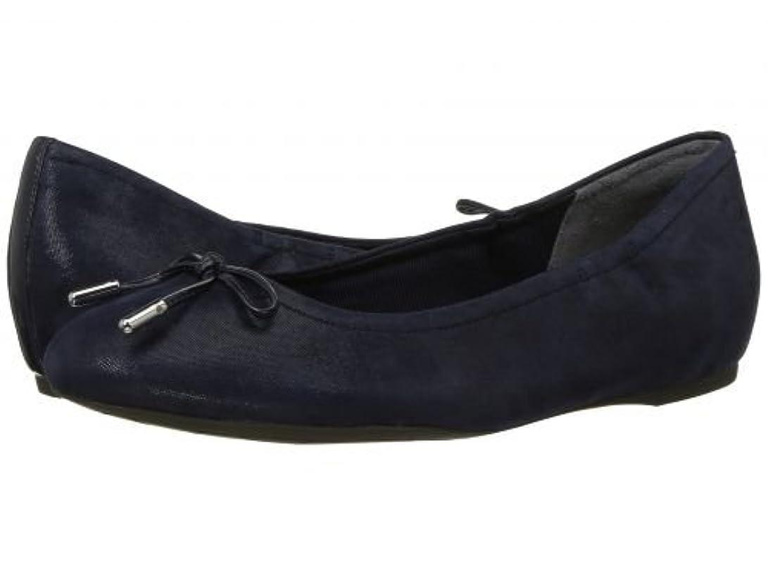 不実アイドル実業家Rockport(ロックポート) レディース 女性用 シューズ 靴 フラット Total Motion Hidden Wedge Tied Ballet - Dark Sapphire Shimmer [並行輸入品]