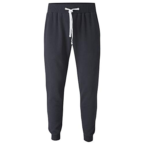 pantaloni felpa uomo Charles Wilson Pantaloncini da Jogging di Felpa Risvoltini (Large