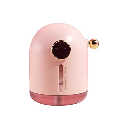 SMEJS Humidificador portátil de 300 ml Humidificador de Submarino inalámbrico Aroma Difusor de Aceite USB Air Humidificador con lámpara de atmósfera (Color : A)