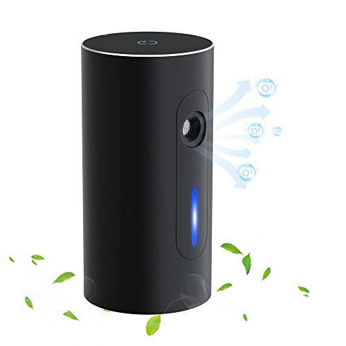 Portable Ozone Generator Air Purifier – Mini Air Cleaner to Extend Food Life and Eliminate Small Odors for Refrigerator/Pets/Car/Shoe Cabinet