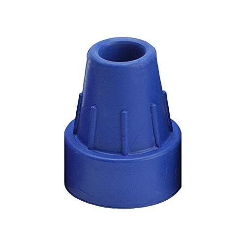 Krückenkapsel blau 16mm (Ossenberg), Zubehör für Gehstöcke und Unterarmgehstützen