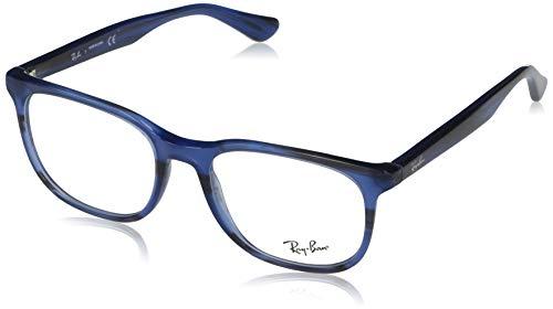 Ray-Ban Unisex adulto -0RX53698053-0RX53698053, (Striped Blue)