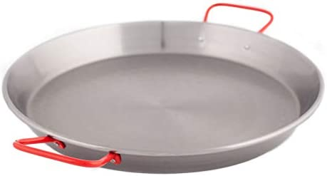 Garcima 17 Inch Carbon Steel Paella Pan 42cm product image