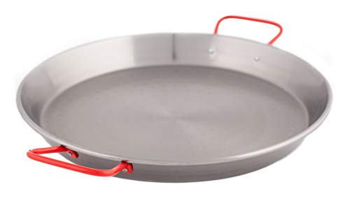 La Ideal 2897700 Paellera in Ferro Spazzolato, Diametro 42 cm