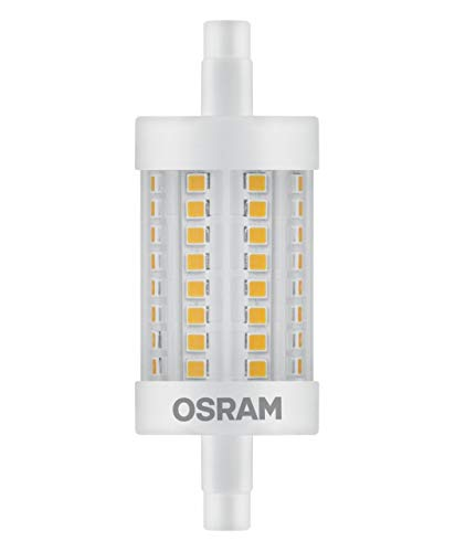 Osram 811751 Bombilla LED R7s, 8 W, Blanco, tubular, plástico