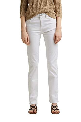 ESPRIT Damen 031EE1B309 Jeans, 100/WHITE, 33/32
