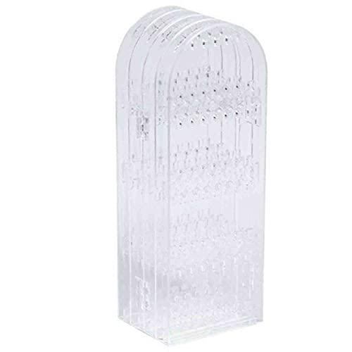 Pumprout Estante de joyería, Caja de Almacenamiento de Pendientes 4 Pantalla Plegable Pendiente Soporte de exhibición de joyería Pendientes Estante de Almacenamiento Ins Caja de Acabado de Viento