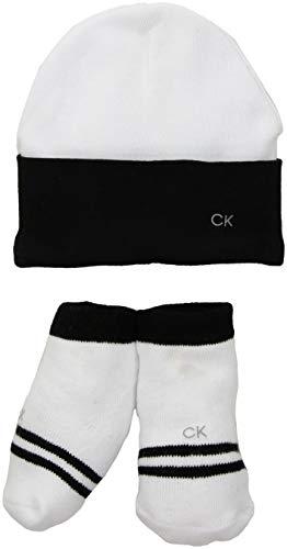 Calvin Klein Mehrteiliges Geschenk-Set für Babys, Jungen - Wei - Small