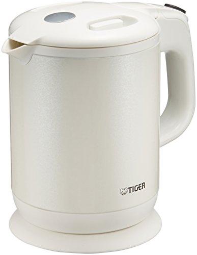 タイガー魔法瓶(TIGER) 電気ケトル 0.8L ホワイト PCH-G080-WP