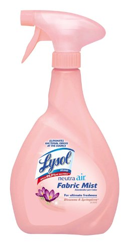 Lysol Neutra Air, Fabric Mist Trigger, Blossoms and Springtime Scent, 27 Ounce