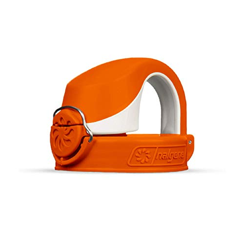 Nalgene On The Fly Bottle Replacement Lid OrangeWhite 22oz
