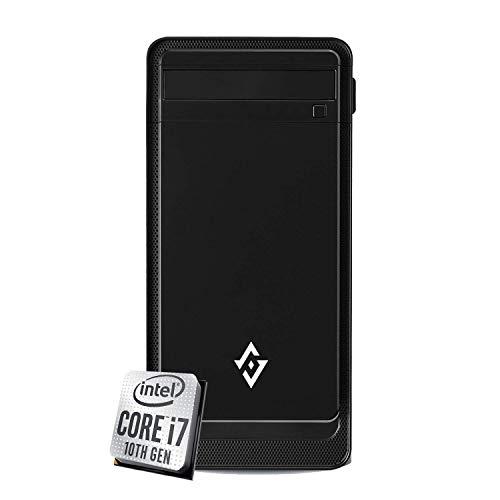 PC DESKTOP INTEL i7 7700 4,20 GHZ • GRAFICA INTEL® HD 630 • 8GB DDR4 • WINDOWS 10 PRO • SSD 240 GB •HDMI • FULL HD • PC ASSEMBLATO PC FISSO DA UFFICIO CASA COMPLETO HD PRONTO USB 3.0 BIANCO