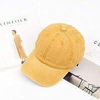 野球帽カジュアルメンズコットンソリッド野球帽女性野球帽女の子調節可能なスナップバックキャップ 帽子