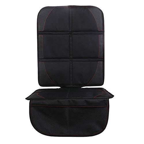 AIOFOGXC Cubiertas universales del Asiento del automóvil Protector Mat Asiento de la Cubierta Protección Cojín Auto Sillas Protector Interior Accesorios (Color : Black)