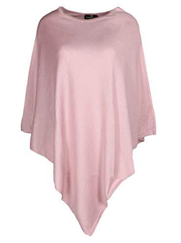 Eleganter und hochwertiger Poncho / Cape für Damen in frischen Farben für 2015 ( lila ). Tolle alternative zu Pullover und Strickjacke.