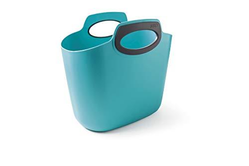 GF Garden, FOR 2 Everyday, Einkaufstasche, Kunststoff, Mehrzweckbehälter mit Henkeln, Farbe Hellblau