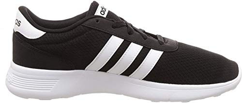 Adidas neo Men's Lite Racer Cblack/Ftwwht/Ftwwht Running Shoes - 10 UK/India (44 1/2 EU)...
