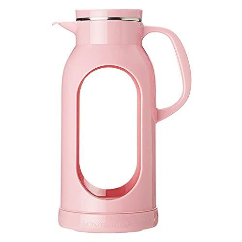 YLiansong-home Jarra de Agua Jarra de té Jarras de Agua Hot Frida Frío Agua Botella de Agua Leche de Vino Jugo de Vidrio Kettle Bebida Jarfe Jarra de Jugo (Color : Clear, Size : 1500ml)