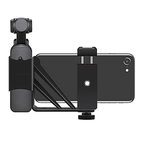 GEBAN Soporte Plegable para Teléfono, Clip Adaptador, Trípode De Metal para Montaje En Selfie para D&JI para Osmo para Pocket 2, Accesorios De Cámara De Cardán De Mano Piezas UAV (Color : 1)