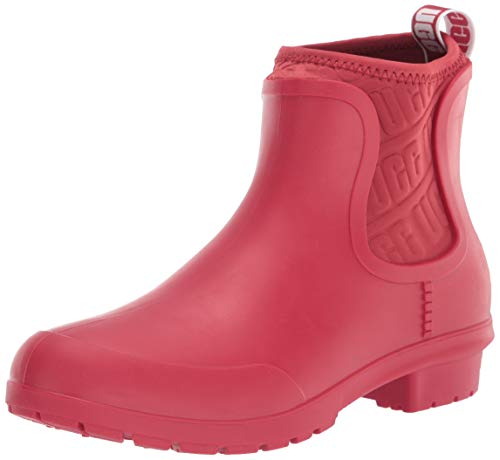UGG Women's Chevonne Ankle Boot, Ribbon Red, 9