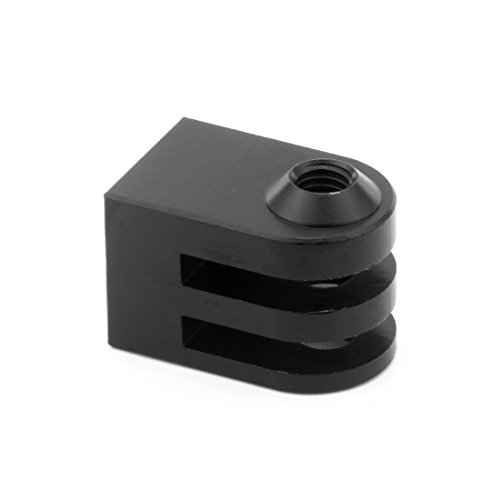XT-XINTE 2 stks Aluminium Mini Statief Mount Adapter Outdoor Action Sport Camera Basis Adapter voor 1/4 Schroef Monopod