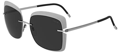 Silhouette Gafas de Sol ACCENT SHADES 8165 Transparent Grey/Grey talla única mujer