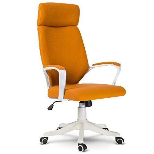 Sofotel Bürostuhl Chefsessel Drehstuhl Netzbezug orange